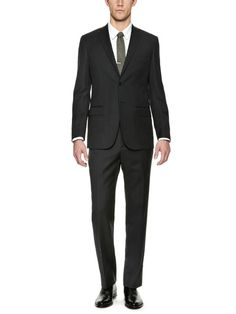 Tonal Pinstripe Suit by Wall + Water on Gilt.com