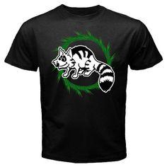 Custom New Raccoon animals design Black t-shirt size S M L XL 2XL 3XL, $24.99