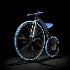 Electric-Powered Velocipedes - The E-Velocipede Concept 1865 is a Modern Update of the First Bicycle (VIDEO)