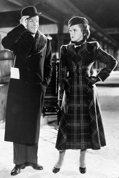 "Absolutely love Judy's coat in ""For Me and My Gal"" (1942)."