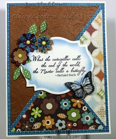 Classy Cards 'n Such: Fall Butterfly Colors