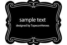 デザイン枠、飾り罫素材専門サイト「フレームデザイン」frames-design.com