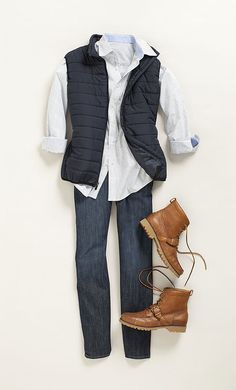 Fall Fashion Men's Most Wanted List | Puffer Vest
