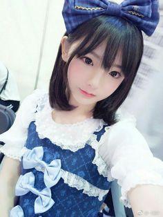 Cute Cosplay Japanese School Uniform Girl, School Girl Japan, Kawaii Cute, Kawaii Girl, Cute Asian Girls, Cute Girls, Cute Cosplay, Anime Cosplay, Cute Japanese Girl