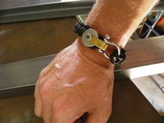 Handmade Bracelet Handmade Bracelets, Projects, Leather, Jewelry, Log Projects, Blue Prints, Jewlery, Bijoux, Schmuck