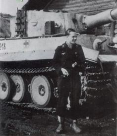 Tiger1  with Leutnant  Ruppel