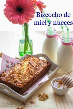 Bizcocho de miel y nueces