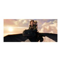 Hiccup Haddock and Astrid Hofferson ❤ liked on Polyvore featuring how to train your dragon, httyd and disney