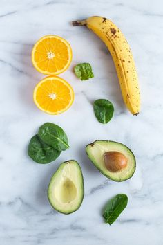 Orange Avocado Smoothie- packed with vitamin C and healthy fats that help stabilize your hormones! (dairy-free and vegan)