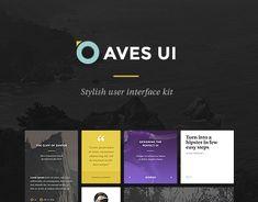 """다음 @Behance 프로젝트 확인: """"Aves UI Kit"""" https://www.behance.net/gallery/18613327/Aves-UI-Kit"""