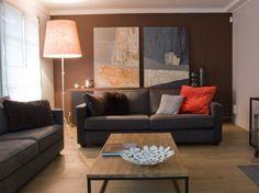 14 idées couleur taupe pour déco chambre et salon  Taupe ...