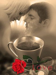 Beautiful Romantic Pictures, Cute Love Pictures, Romantic Images, Beautiful Gif, Good Morning Kiss Images, Good Morning Love Gif, Good Morning Romantic, Good Morning Couple, Romantic Kiss Gif
