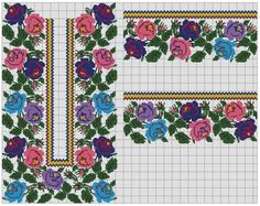 Embroidery Motifs, Vintage Embroidery, Cross Stitch Embroidery, Cross Stitch Patterns, Embroidery Designs, Cross Stitch Boards, Cross Stitch Rose, Embroidery Techniques, Bead Weaving