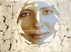 """Love"" from Virtues series   FotoPainting on canvas 125x95 cm   Sarah Arensi&Ferdinando Cioffi 2013"