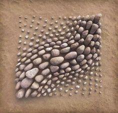 Pebble Mosaic, Pebble Art, Mosaic Art, Mosaic Walkway, Stone Crafts, Rock Crafts, Art Pierre, Colossal Art, Pebble Stone
