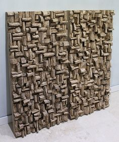 Acoustic panels for Entertainment room, wooden audio diffusers, home theatre
