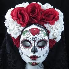 day of the dead masks for sale - Google Search