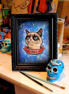 Wish Upon A Grumpy Cat by Erika Pearce