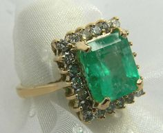 4.75tcw Spectacular Emerald Cut Colombian by JRColombianEmeralds, $2650.00