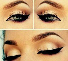 Perfect eye makeup