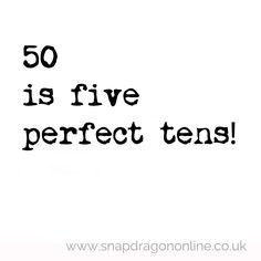 5 perfect tens