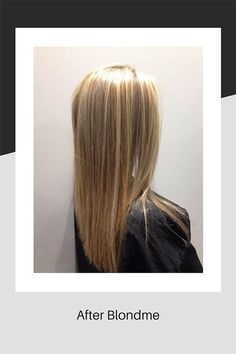 Blondme hair colouring by Schwarzkopf at 77 The Hill hair salon in Enfield