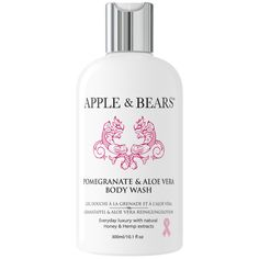 Pomegranate & Aloe Vera Luxury Body Wash