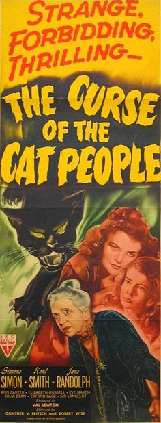 The Curse of the Cat People, 1944. Movie Poster.