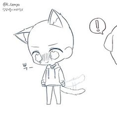 Chibi Sketch Anime - My Website 2020 Chibi Cat, Anime Chibi, Anime Art, Bts Chibi, Kawaii Anime, Chibi Sketch, Anime Sketch, Chibi Drawing, Anime Drawings Sketches