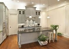 grey kitchen cabinets - Bing Images