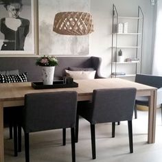 Pilke 60 in natural birch looks gorgeous in this dining room of don't you think? Nordic Lights, Furniture, Room, Dining, Home Decor, Room Inspiration, Dining Room Inspiration, Inspiration, Dining Chairs