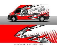 Cargo van decal, truck and car wrap vector, Graphic abstract stripe designs for wrap branding vehicle Car Stickers, Car Decals, Van Wrap, Fiat Ducato, Cargo Van, Kart, Ford Transit, Car Car, Stripes Design