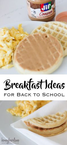 breakfast ideas for back to school #peanutbutterhappy #ad