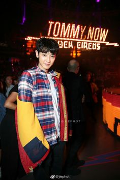 EXO Chanyeol aka Tommy boy
