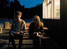 Jessica Barden and Alex Lawther in The End of the F***ing World It Movie 2017 Cast, Movie Tv, The End, End Of The World, Netflix Series, Series Movies, Ing Words, Dont Trust People, Foto Top