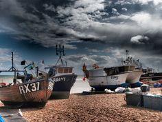 Hastings beach.