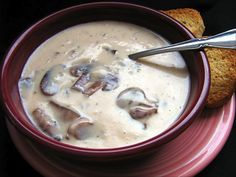 Quick and easy Mushroom soup!