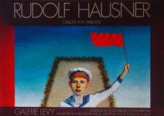 Rudolf Hausner - Original Artist Poster 1976 – Art & Vintage Store Ltd Rudolf Hausner, Vintage Prints, Vintage Posters, Original Vintage, Exhibition Poster, Fine Art Prints, Poster Prints, Museum, The Originals