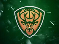 Milwaukee Bucks Sports Logo Re Design