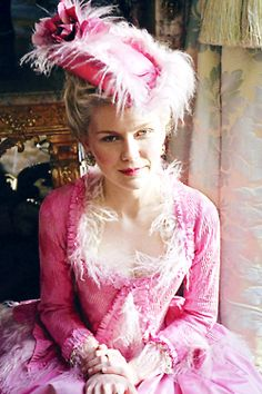 Marie Antoinette (2006) with Kirsten Dunst by Sofia Coppola, dress design Milena Canonero