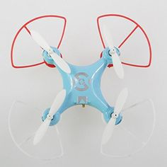 Sceek.Com - Cheerson CX-10 Mini 2.4G 4CH 6 Axis LED RC Quadcopter With Protection Cover (Blue)  http://sceek.com/product/cheerson-cx-10-mini-2-4g-4ch-6-axis-led-rc-quadcopter-with-protection-cover-blue/  available at Sceek.Com