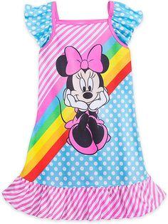 Disney Minnie Mouse Halloween Nightshirt for Girls Multi