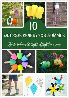 Don't waste the summer wondering what to do? Check out our ultimate list of 100 summer activities for kids, including crafts, printables and more!