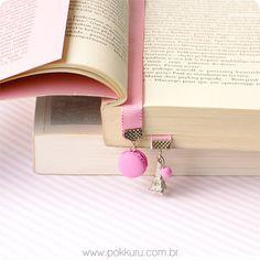 marcador de páginas paris - macaron miniature bookmark in polymer clay, delicious reading for every book lover