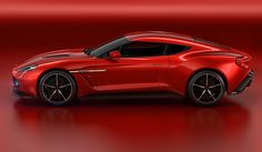 Aston Martin V12 Zagato - With its 6.0L V12 powertrain producing 580 bhp, Vanquish Zagato can deliver a projected 0-62 mph time of 3.5 seconds.