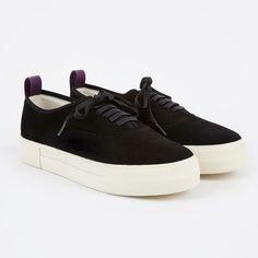 Eytys Mother Suede Sneakers - Black (Image 1)