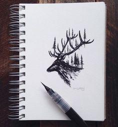 Sam Larson drawings