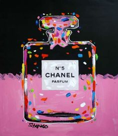 Chanel No. 5 in Pink by John Stango (2015)