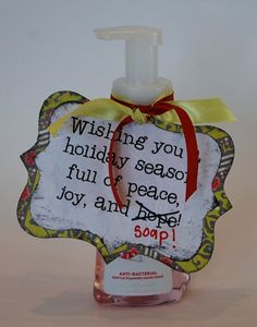 love this for a teachers or neighbors gift!
