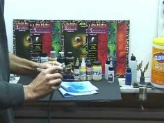 Airbrush Changing Colors - YouTube